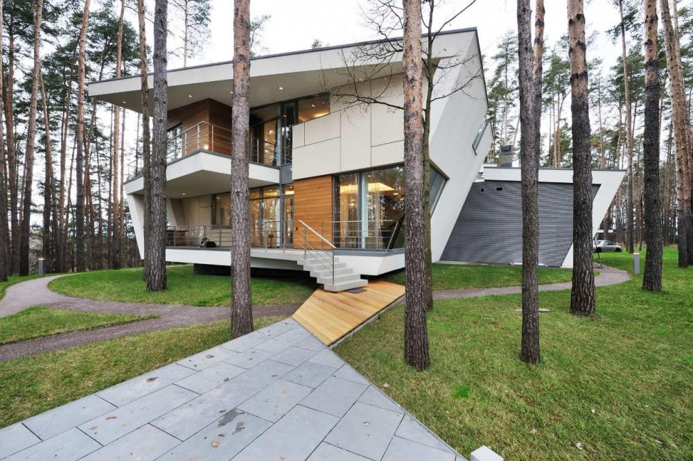 къща в близост до Москва